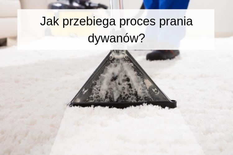 Jak przebiega proces prania dywanów